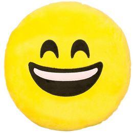 HappyFace Emoji Párna Nevető - 30 cm