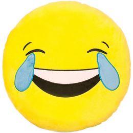 HappyFace Emoji Párna Sírvanevető - 30 cm
