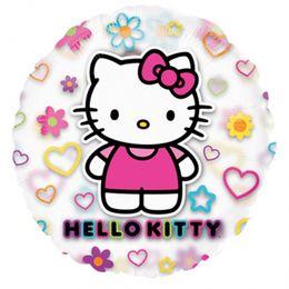 26 inch-es Hello Kitty Átlátszó Fólia Lufi