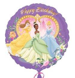 hercegnős szülinapi képeslapok 18 inch es Hercegnős   Princess Happy Birthday   Szülinapi Fólia  hercegnős szülinapi képeslapok