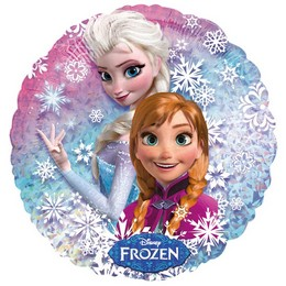 18 inch-es Jégvarázs - Disney Frozen - Holografikus Fólia Lufi