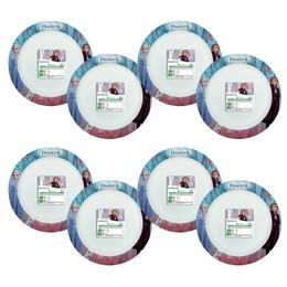 Jégvarázs - Frozen 2 Papír Parti Tányér - 8 db-os, 24 cm
