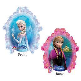 Jégvarázs - Frozen Mini Shape Fólia Lufi (5 db/csomag)