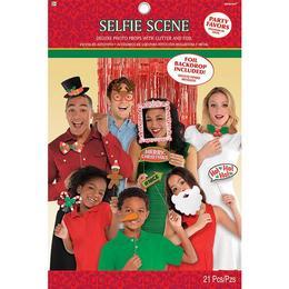 Karácsonyi Kiegészítő Szett Fotózáshoz - 21 db-os