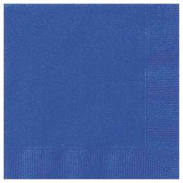 Royal Blue Papír Parti Szalvéta - 33 cm x 33 cm, 20 db-os