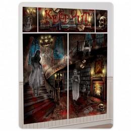Kísértetház - Haunted Mansion Halloween Parti Dekoráció, 5 Részes