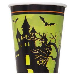 Kísértetház Pohár Halloweenre - 270 ml, 8 db-os