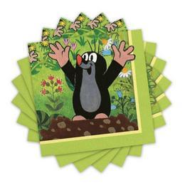 Little Mole - Kisvakond Parti Szalvéta - 33 cm x 33 cm, 20 db-os