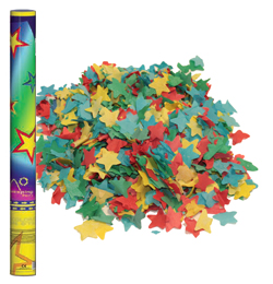 60 cm-es, Színes Papír Csillag Konfettiket Kilövő Konfetti Ágyú