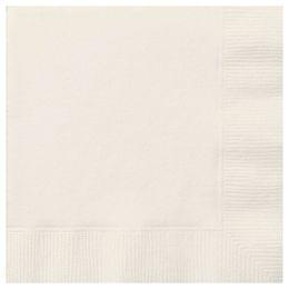 Ivory Papír Parti Szalvéta - 33 cm x 33 cm, 20 db-os