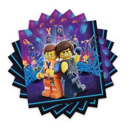 Lego Movie 2 Parti Szalvéta - 33 cm x 33 cm, 16 db-os