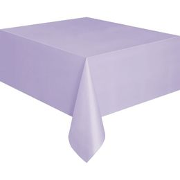 Lavender Műanyag Parti Asztalterítő - 137 cm x 274 cm