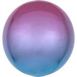Lila Kék Ultra Shape Orbz Lufi