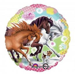 17 inch-es Charming Horses - Lovas Fólia Lufi