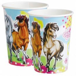 Charming Horses - Lovas Parti Pohár - 250 ml, 8 db-os
