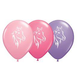 11 inch-es Lovas Pink, Rose, Spring Lilac Assorted Lufi (6 db/csomag)