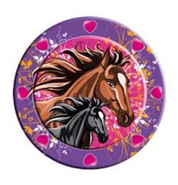 Lovas - I Love Horses - Parti Tányér - 23 cm, 8 db-os