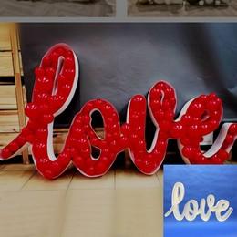 Love Feliratú Dekorációs Keret Lufihoz