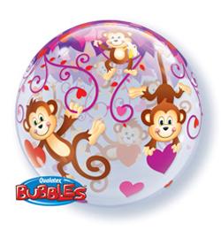 Szerelmes Bubble Lufik