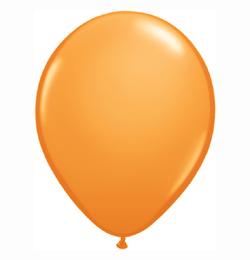 5 inch-es Orange (Standard) Kerek Lufi (100 db/csomag)