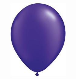 5 inch-es Pearl Quartz Purple Kerek Lufi (100 db/csomag)
