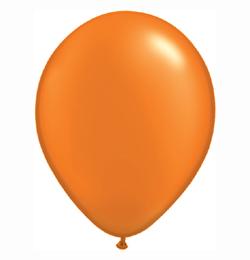 5 inch-es Pearl Mandarin Orange Kerek Lufi (100 db/csomag)