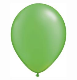5 inch-es Pearl Lime Green Kerek Lufi (100 db/csomag)