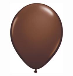 5 inch-es Chocolate Brown (Fashion) Kerek Lufi (100 db/csomag)