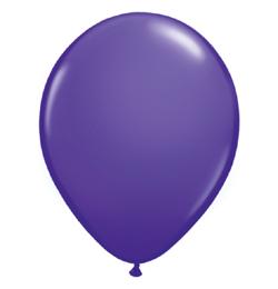 5 inch-es Purple Violet (Fashion) Kerek Lufi (100 db/csomag)