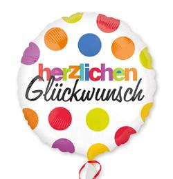 boldog születésnapot németül 18 inch es Herzlichen Glückwunsch Fólia Lufi | Léggömb és Parti  boldog születésnapot németül