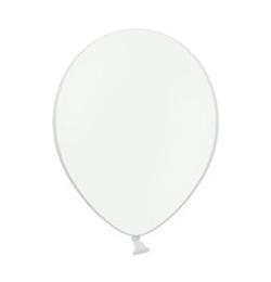11 inch-es Pastel White - Fehér Kerek Lufi (100 db/csomag)