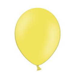 11 inch-es Pastel Yellow - Sárga Kerek Lufi (100 db/csomag)