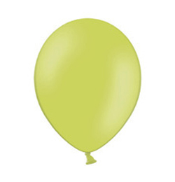 11 inch-es Pastel Apple Green - Almazöld Kerek Lufi (100 db/csomag)