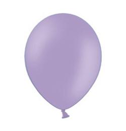 11 inch-es Pastel Lavender - Levendula Kerek Lufi (100 db/csomag)