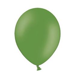 11 inch-es Pastel Leaf Green - Zöld Kerek Lufi (100 db/csomag)
