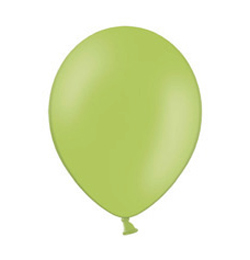 11 inch-es Pastel Lime Green - Limezöld Kerek Lufi (100 db/csomag)
