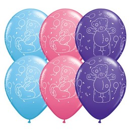 11 inch-es Tatty Teddy Balloons Special Assortment Lufi (25 db/csomag)