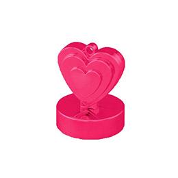 Magenta Rózsaszín Szives Léggömbsúly - 110 gramm