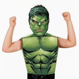 Marvel - Hulk Jelmez Kiegészítő Szett, 3-6 Éveseknek