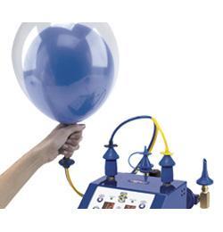 Double Bubble (Dupla lufi) Fújásához Csatlakozócső Kettős Méretezőhöz