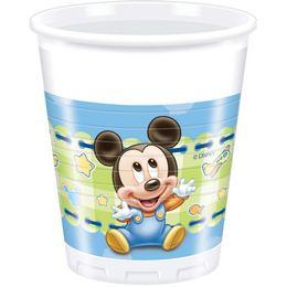 Mickey Baby Parti Pohár - 8 db-os, 200 ml