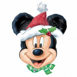 Mickey Mouse Christmas Super Shape Fólia Lufi