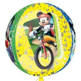 Mickey Mouse - Mikiegér Ultra Shape Orbz Fólia Lufi