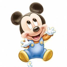 Mickey 1st Birthday Boy Szülinapi Super Shape Fólia Lufi