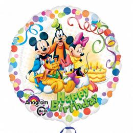 17 inch-es Mikiegér és Barátai - Mickey & Friends Party Fólia Lufi
