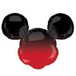 Mikiegér - Mickey Mouse Forever Ombré Super Shape Fólia Lufi