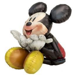 Mikiegér - Mickey Mouse Sétáló Fólia Lufi