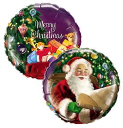18 inch-es Santas Christmas List - A Mikulás Listája Karácsonyi Fólia Lufi