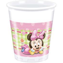 Minnie Baby Parti Pohár - 8 db-os, 200 ml