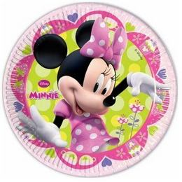 Minnie Bow-Tique Parti Tányér - 20 cm, 8 db-os